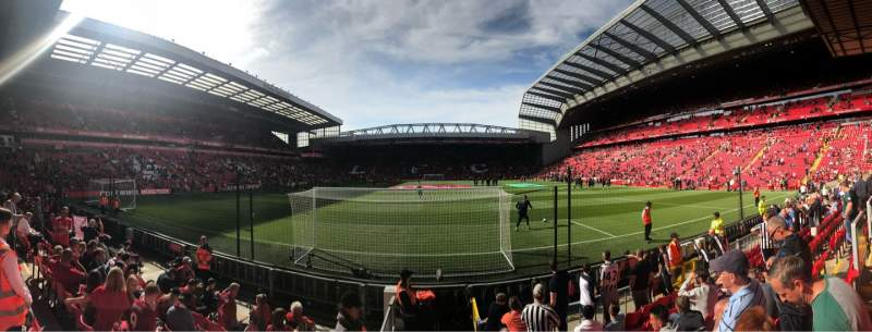 Seating view for Anfield Section 124