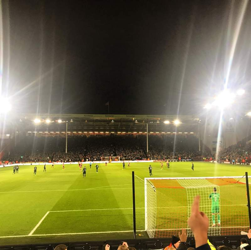 Seating view for Bramall Lane Section L2