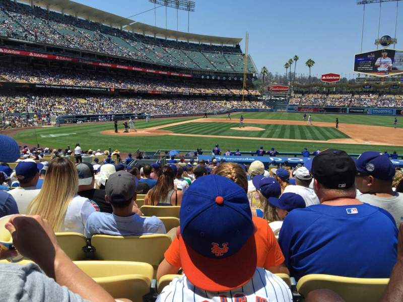 Seating view for Dodger Stadium Section 16FD Row S Seat 6