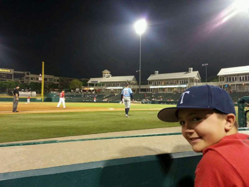 Seating view for Dr Pepper Ballpark Section 106 Row 1 Seat 6