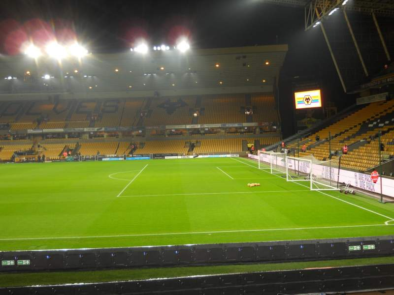 Seating view for Molineux Stadium Section JL3 Row M Seat 64