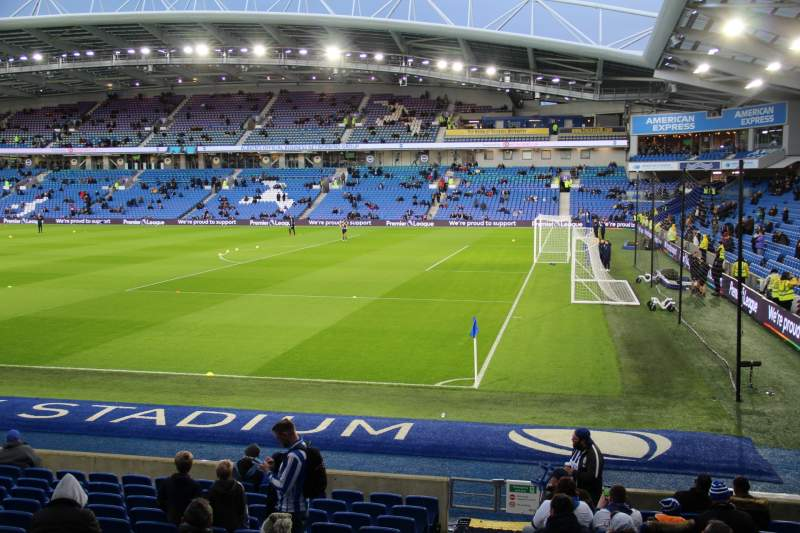 Seating view for American Express Community Stadium Section W1A Row O Seat 10