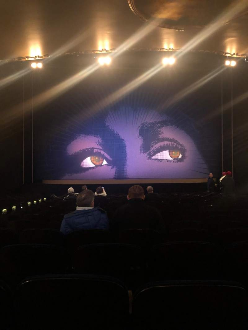 Seating view for Lunt-Fontanne Theatre Section Orchestra C Row S Seat 104