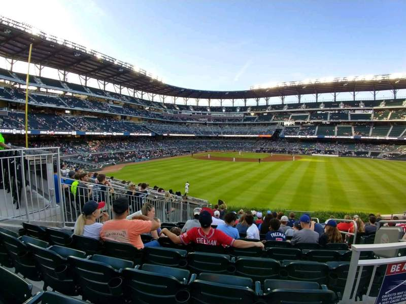 Seating view for SunTrust Park Section 155 Row 12 Seat 2