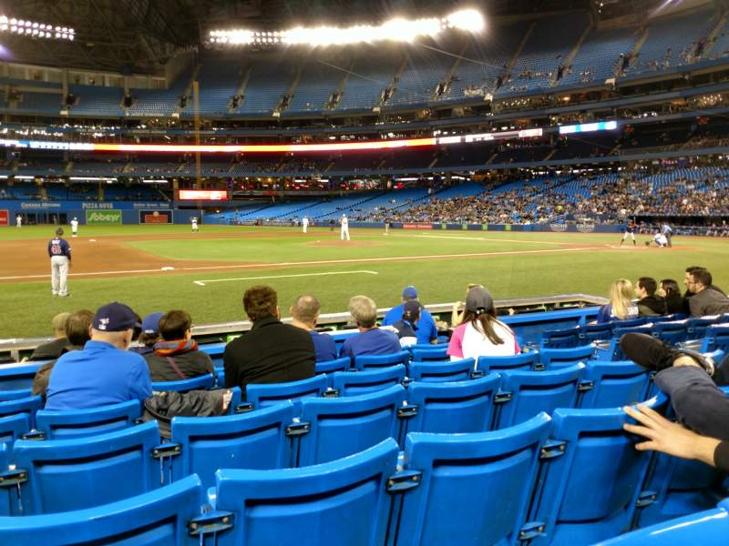 Seating view for Rogers Centre Section 127L Row 7 Seat 107