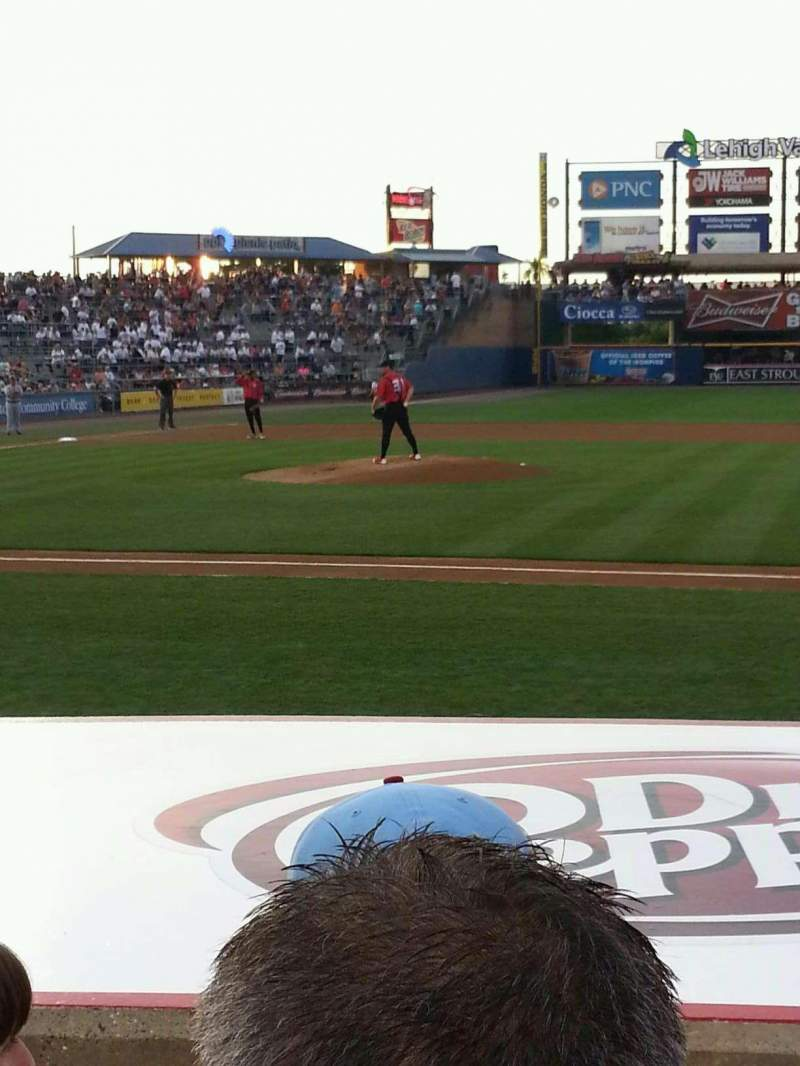 Seating view for Coca-Cola Park