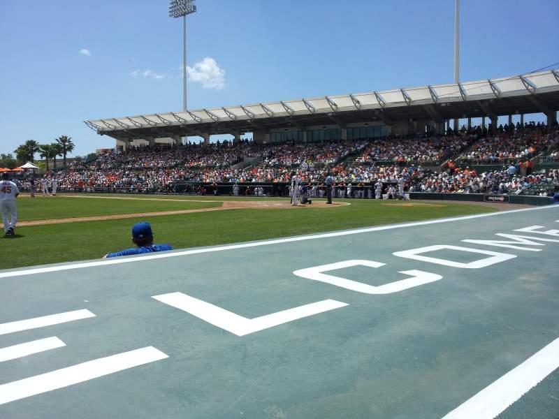 Ed Smith Stadium, section: 118, row: 6, seat: 9