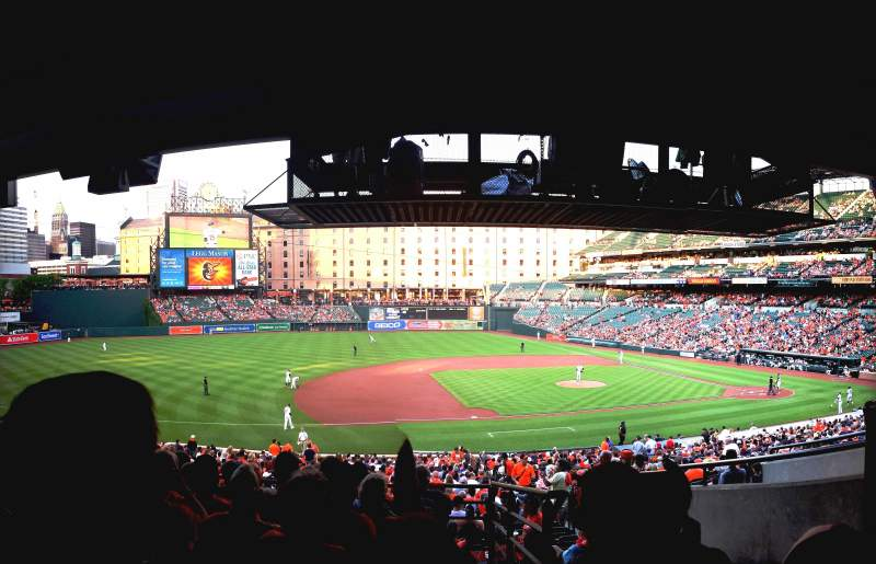 Oriole Park At Camden Yards Section 55 Row 8 Seat 2
