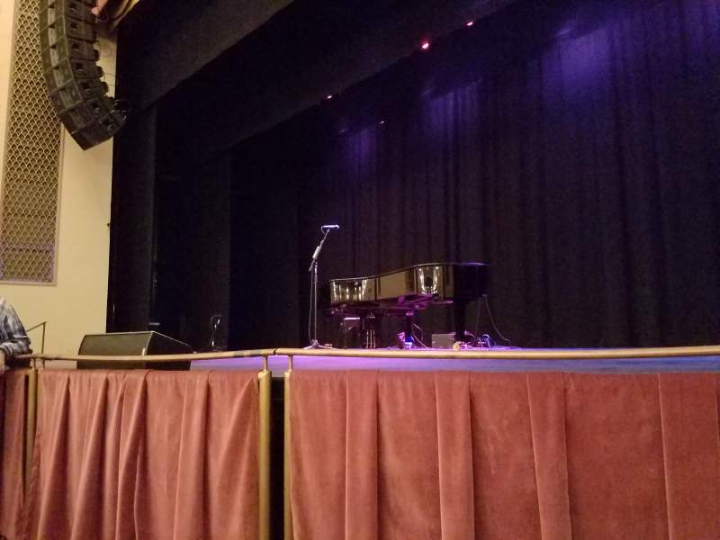 Seating view for Strand-Capitol Performing Arts Center Section Front Orchestra Row B Seat 6
