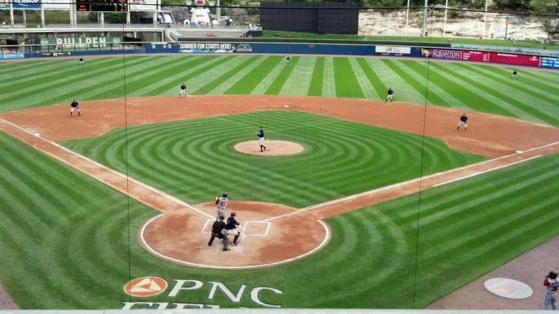 Seating view for PNC Field Section 205 Row 1 Seat 8