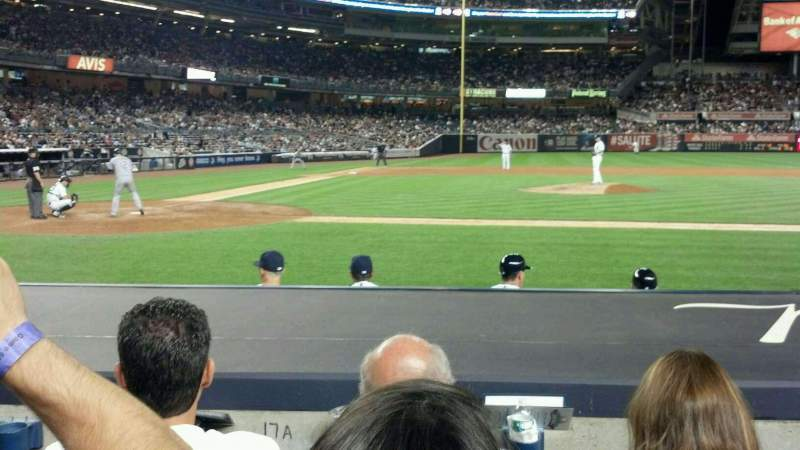 Seating view for Yankee Stadium Section 17a Row 7 Seat 3