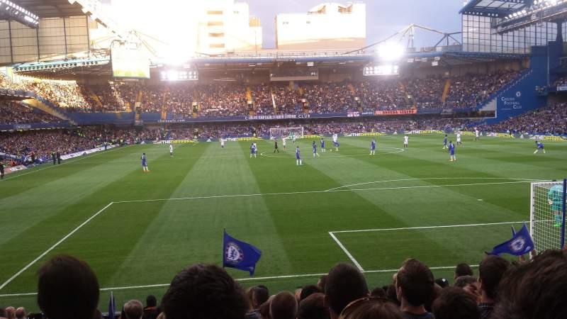 Seating view for Stamford Bridge Section Matthew Harding Lower 13 Row S Seat 0109
