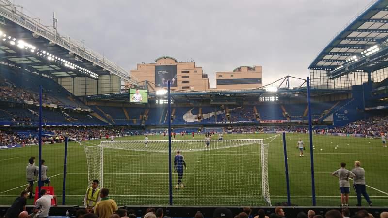 Seating view for Stamford Bridge Section Matthew Harding Lower 12 Row M Seat 0077