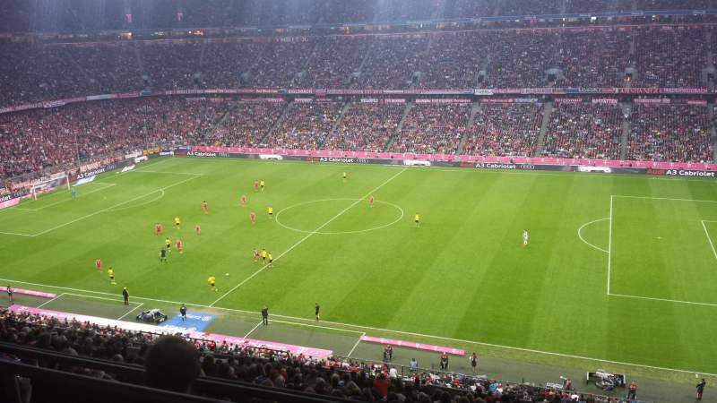 Seating view for Allianz Arena Section BWIN Box Row Longe 36 Seat 1