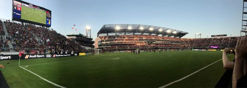 Audi Field, section: F16, row: 1, seat: 3