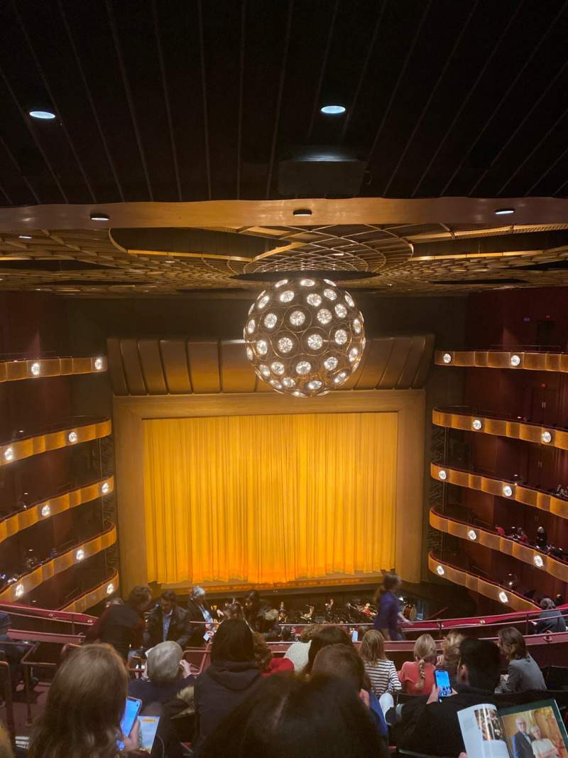 Seating view for David H. Koch Theater Section Fourth Ring Row J Seat 103