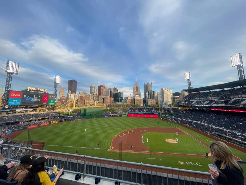 Seating view for PNC Park Section 223 Row C Seat 2