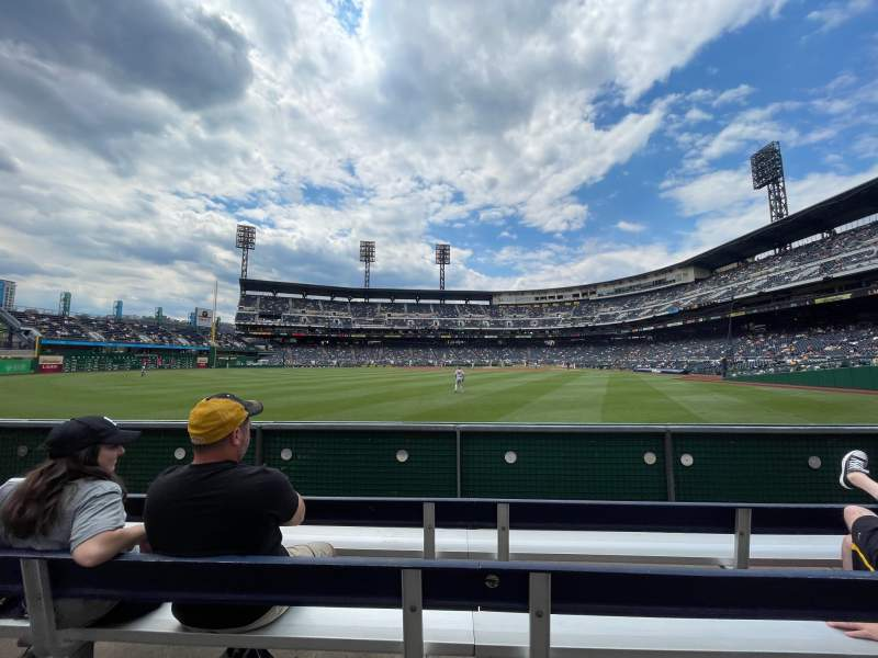 Seating view for PNC Park Section 135 Row E Seat 15