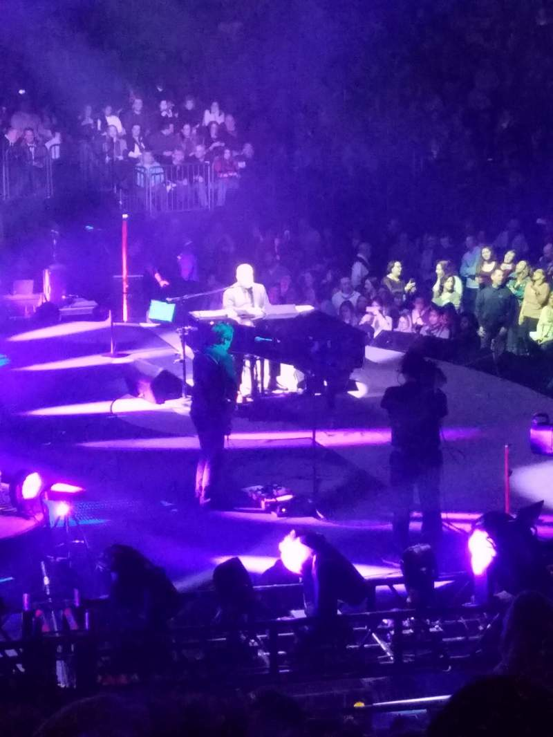 Madison Square Garden Section 114 Row 16 Seat 18 Billy Joel Shared By Paco47