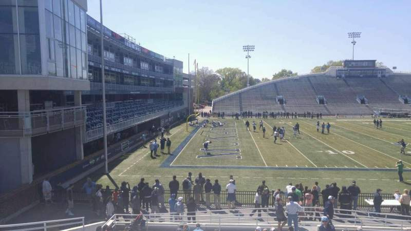 Seating view for Foreman Field Section 122 Row 10 Seat last