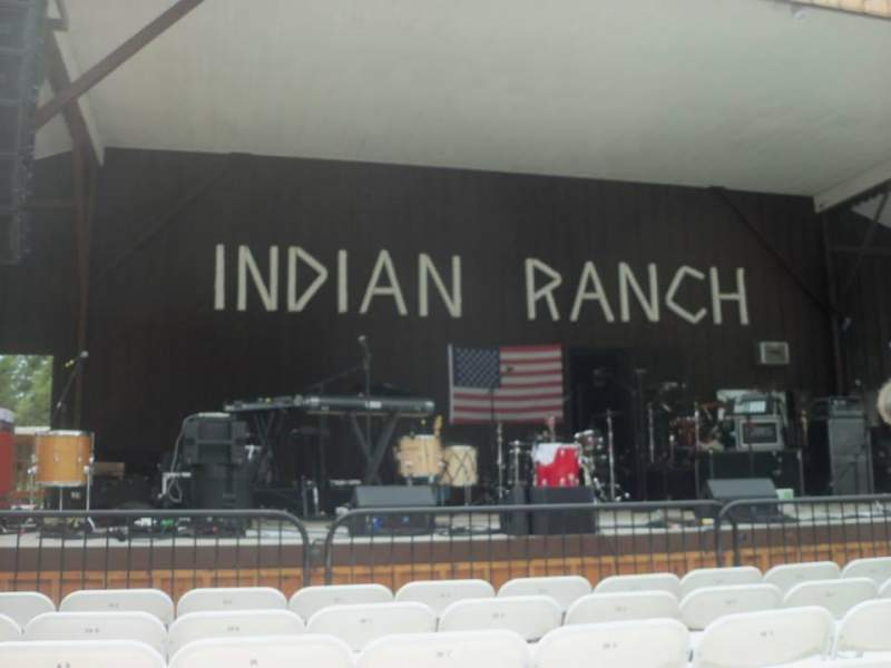 Seating view for Indian Ranch Section Floor Left Row 6A Seat 8
