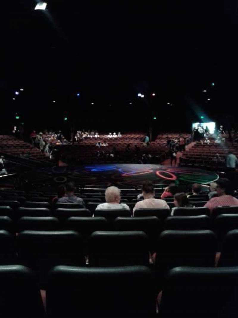 Seating view for North Shore Music Theatre Section B Row L Seat 17