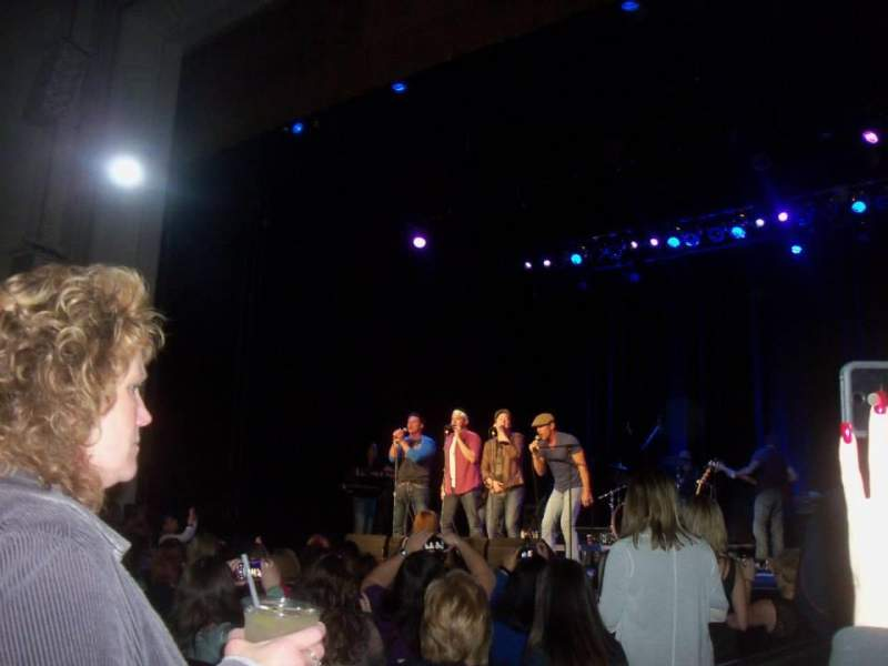 Wilbur Theatre, section: D, row: 2, seat: 3