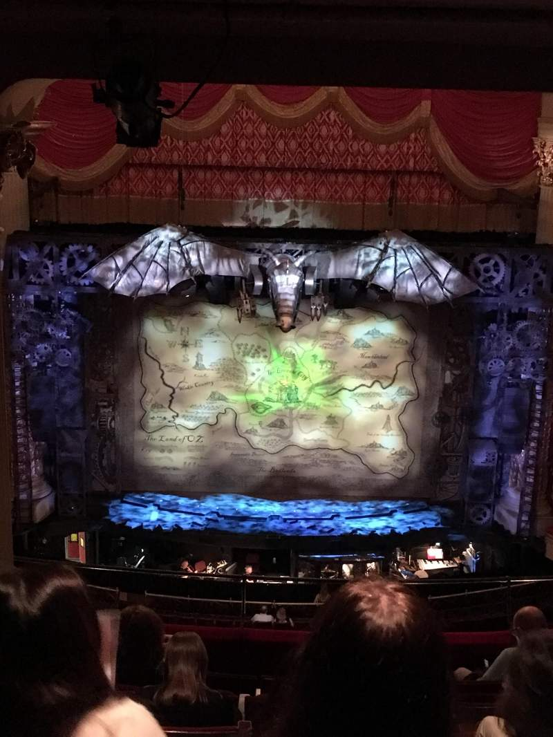 Seating view for Academy of Music Section Family Circle E Row H Seat 109