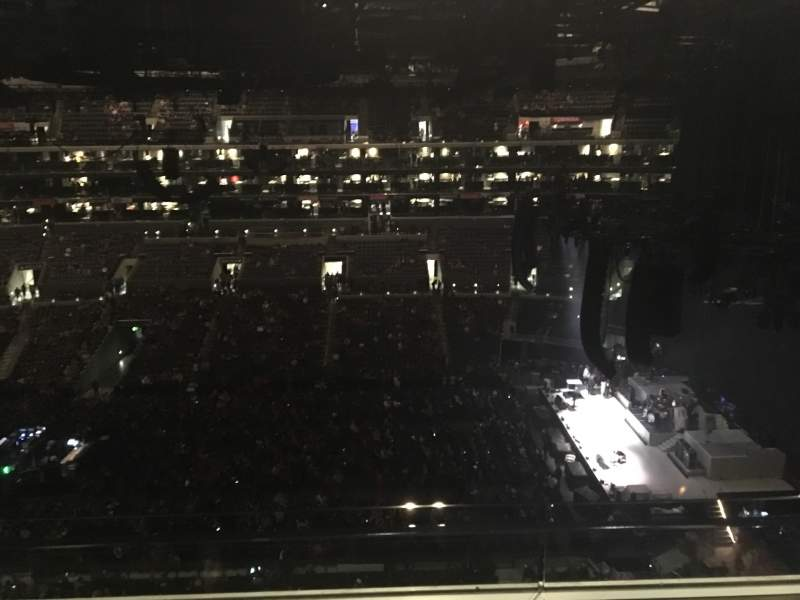 Seating view for Staples Center Section 334 Row 2W Seat 9