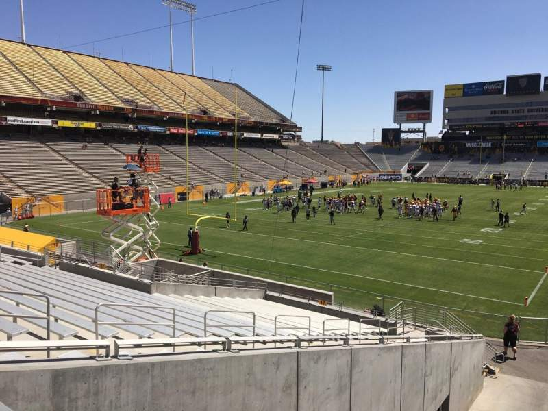 Seating view for Sun Devil Stadium Section 16 Row 25 Seat 12