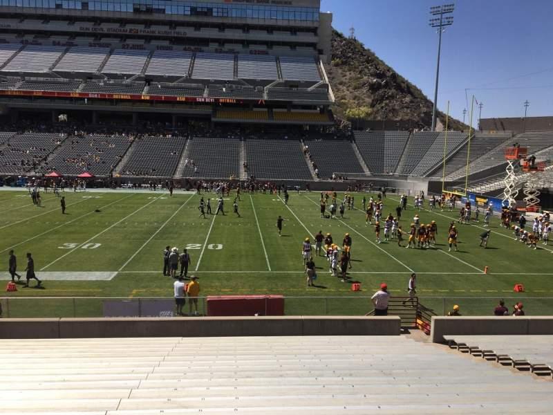 Sun Devil Stadium, section: 28, row: 25, seat: 12