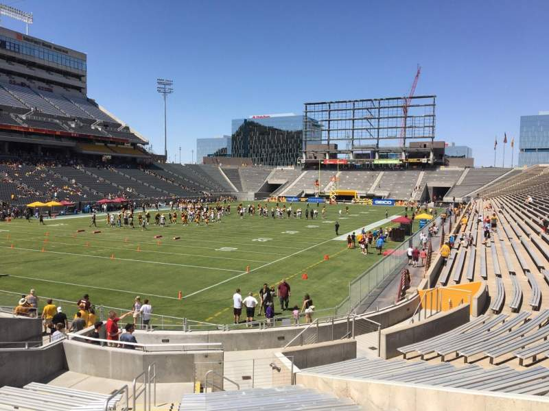 Seating view for Sun Devil Stadium Section 37 Row 25 Seat 10