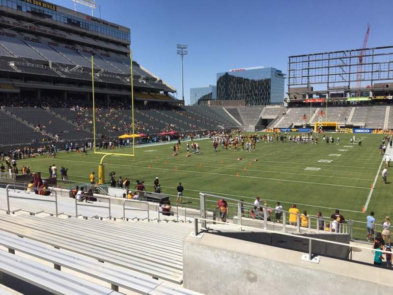 Seating view for Sun Devil Stadium Section 39 Row 25 Seat 12