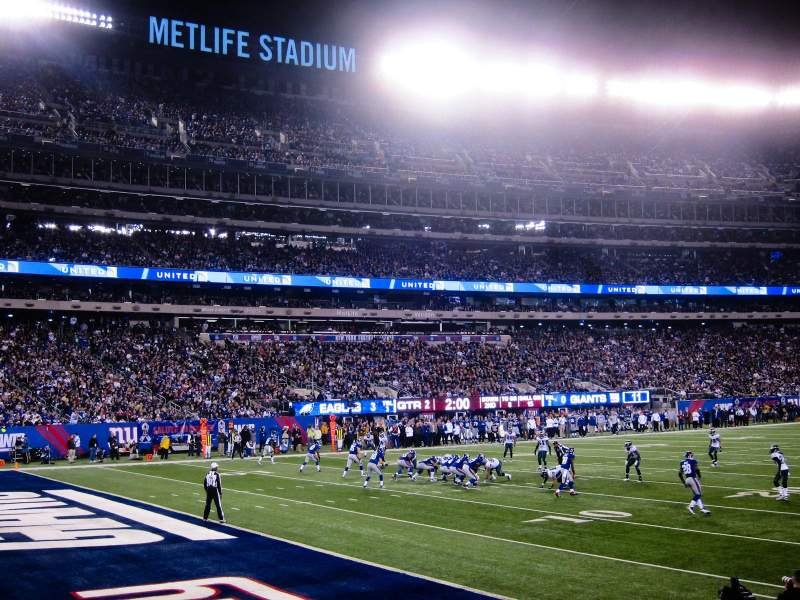 Seating view for MetLife Stadium Section 144 Row 7 Seat 12
