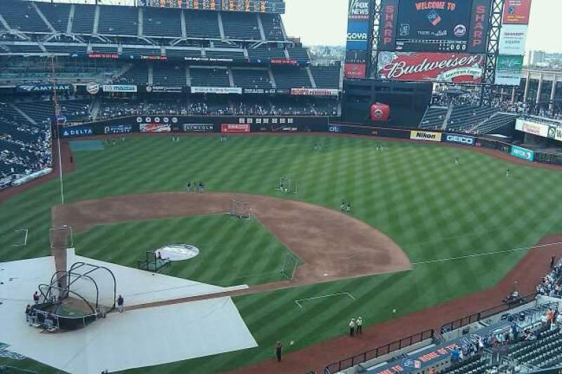 Seating view for Citi Field Section 509