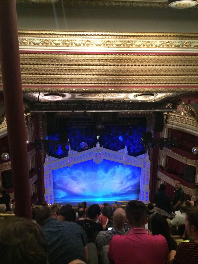 Seating view for PrivateBank Theatre Section Balcony Row K Seat 405