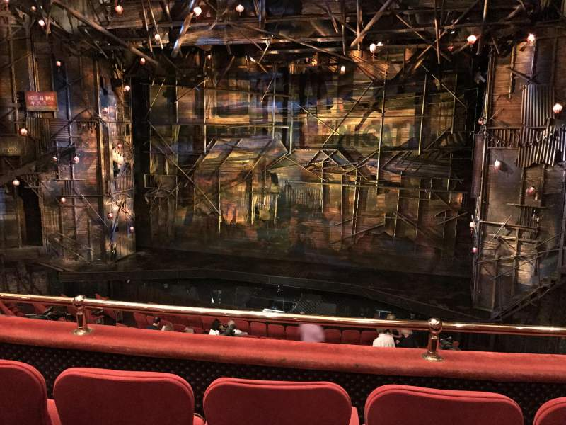 Seating view for Broadway Theatre - 53rd street  Section Front Mezz Row C Seat 116