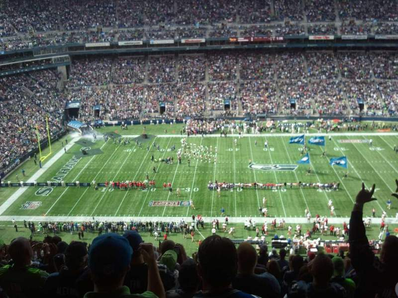 Seating view for CenturyLink Field Section 310