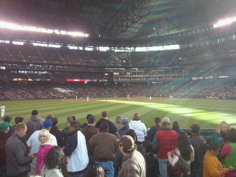 Seating view for T-Mobile Park Section BeerGar Row Den
