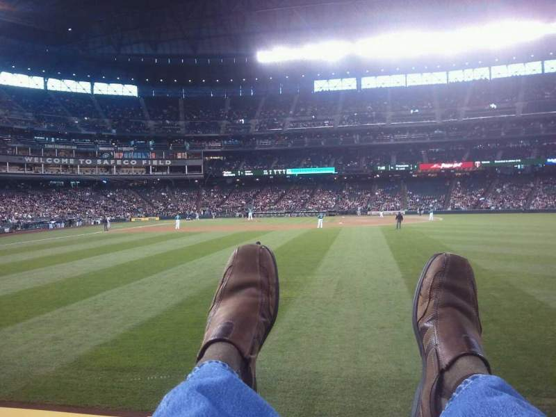 Seating view for Safeco Field Section 107 Row 23 Seat 17