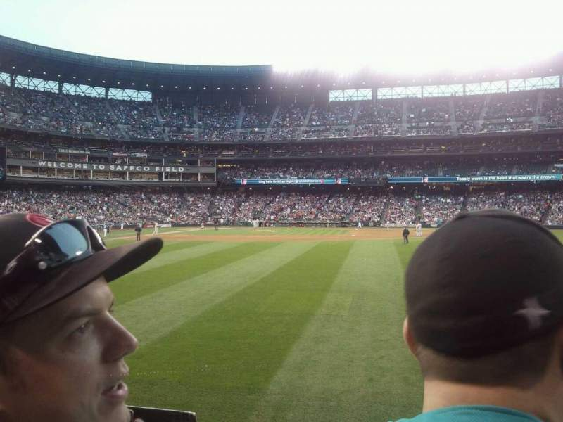 Seating view for Safeco Field Section 107 Row 24 Seat 17