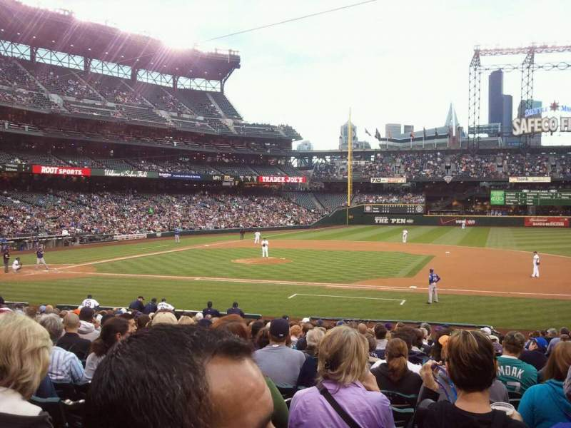 Seating view for Safeco Field Section 121 Row 25 Seat 24