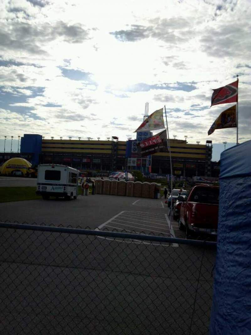 Seating view for Kansas Speedway