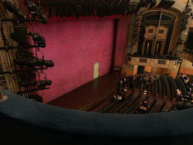Seating view for Shubert Theatre Section BALC Row B Seat 27