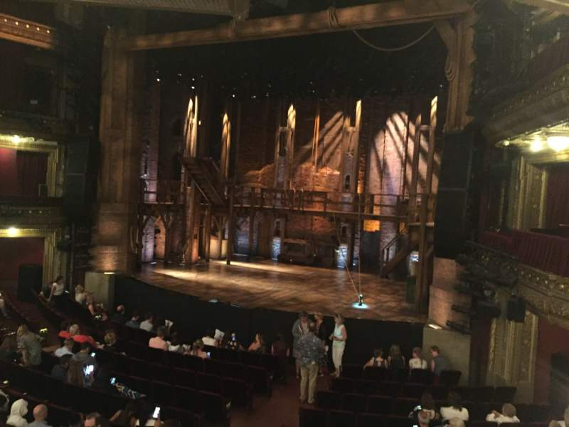 Seating view for CIBC Theatre Section DRCR-R Row A Seat 2