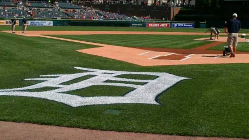 Seating view for Comerica Park Section 125 Row 3 Seat 8