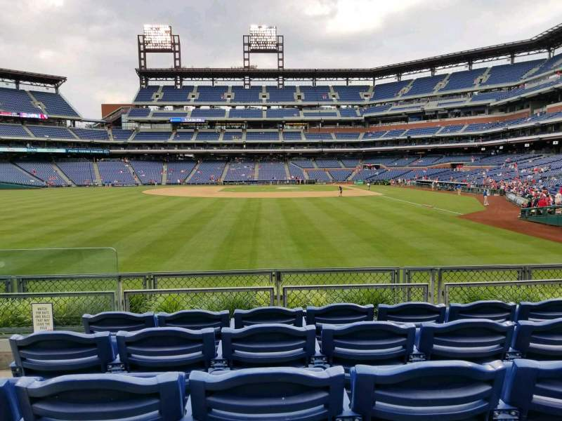 Seating view for Citizens Bank Park Section 142 Row 5 Seat 17
