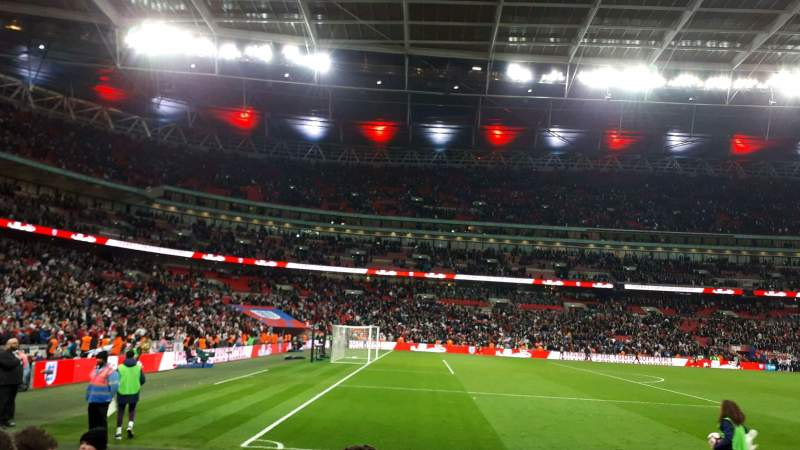Seating view for Wembley Stadium Section 126 Row 5 Seat 111