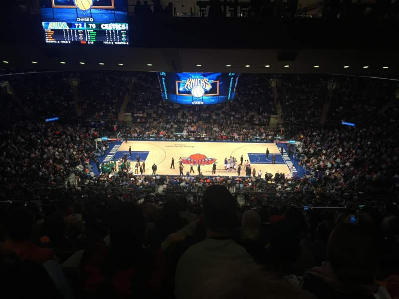 Madison Square Garden: Madison Square Garden , Section 211, Home Of New York