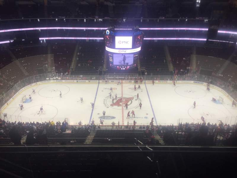 Seating view for Prudential Center Section 212 Row 4 Seat 15